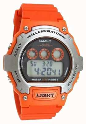 Casio Sport Alarm unisex Illuminator Chronograph W-214H-4AVEF