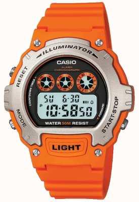 Casio Sportalarm Unisex Illuminator Chronograph W-214H-4AVEF