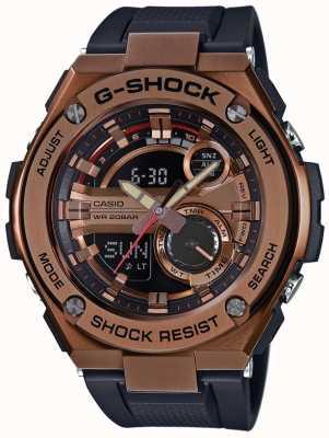 Casio G-Stahl g-shock vergoldet Fall GST-210B-4AER