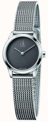 Calvin Klein Damen minimal graue Zifferblatt K3M2312X
