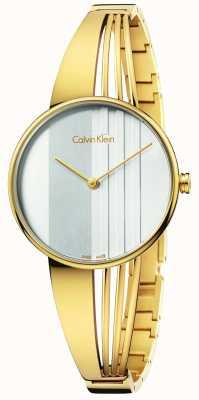 Calvin Klein Frauen Drift Gold K6S2N516