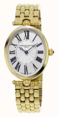 Frederique Constant Classics Art-Deco-Frauen gelb vergoldet Perlmutt FC-200MPW2V5B