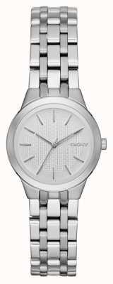 DKNY Park Slope Damen silberne Uhr NY2490