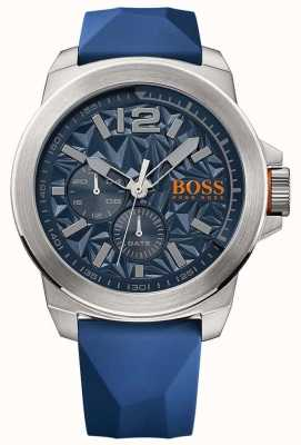 Hugo Boss Orange Mens blauen Gummiband blau Wahl 1513348