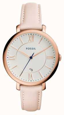 Fossil Damen jacqueline blush Lederarmband ES3988