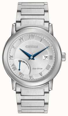 Citizen Herren Edelstahl Eco-Drive-Armband AW7020-51A