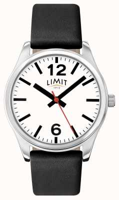 Limit Womens schwarzes Armband weißes Zifferblatt 6181.01