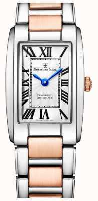 Dreyfuss Elegance zwei Ton stieg goldene Uhr DLB00147/01