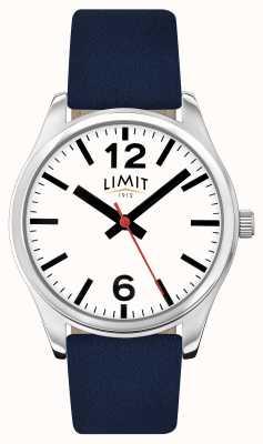 Limit Herren blaues Armband weißes Zifferblatt 5627.01