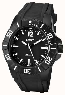 Limit Mens active black strap schwarzes Zifferblatt 5545.02