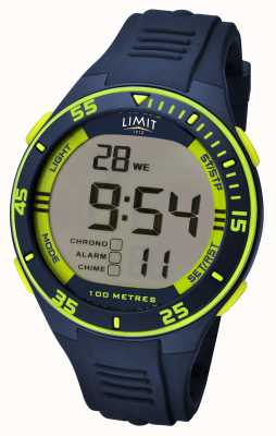 Limit Herren Navy Strap Digital Zifferblatt 5574.24
