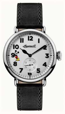 Disney By Ingersoll Mens union das trenton disney limited edition schwarzes leder ID01202