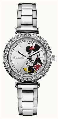 Disney By Ingersoll Damen Union der Disney Edelstahl Silber Zifferblatt ID00305