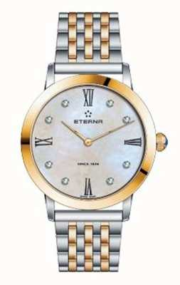 Eterna Frauen Ewigkeit Armband zwei Ton Uhr 2720.53.69.1739