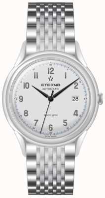 Eterna Mens Erbe 1948 automatische Stahlnetz 2955.41.14.1741