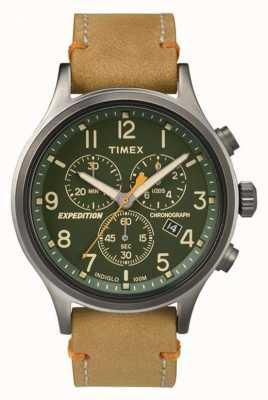Timex Herren Scout Chronograph grünes Zifferblatt TW4B04400