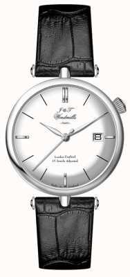 J&T Windmills Herren threadneedle mecahnical Sterling Silber Uhr WGS10003/06