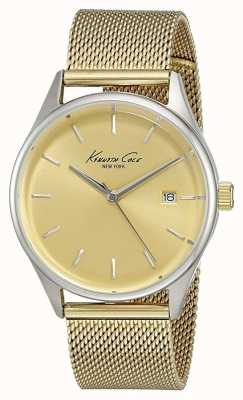 Kenneth Cole Damen Goldton rostfreiem Gold Wahlstahlnetz KC10029401