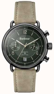 Barbour Mens salisbury khaki Lederband grün Wahl BB053GRKH