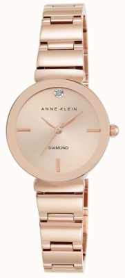 Anne Klein Frauen Roségold Tone Armband Roségold Zifferblatt AK/N2434RGRG