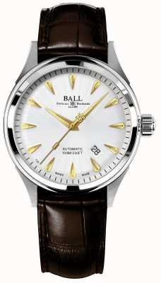 Ball Watch Company Feuerwehrmann-Rennläufer klassisches automatisches Korbdraht-Silber-Zifferblatt NM2288C-LJ-SL