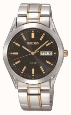 Seiko Herren Armbanduhr aus Edelstahl SNE047P9