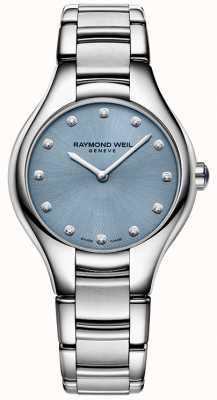 Raymond Weil Womans noemia 12 Diamant blau 5132-ST-50081