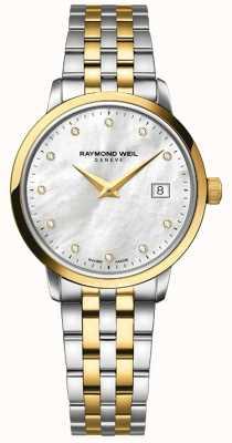 Raymond Weil Womans toccata zwei Ton Gold Diamant 5988-STP-97081