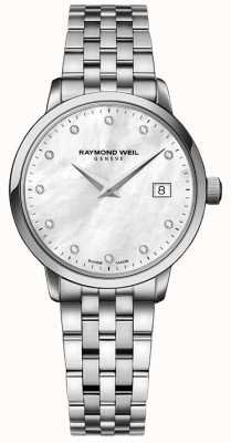 Raymond Weil Womans toccata Quarz Edelstahl Silber Diamant Punkt 5988-ST-97081
