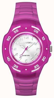 Timex Unisex Marathon analog Mitte lila TW5M06600