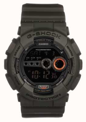 Casio Limitierte Edition g-shock grün GD-100MS-3ER