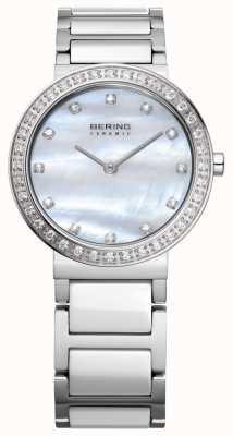 Bering Frauen-Edelstahl-Silber 10729-704