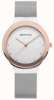 Bering Damen Silber / Gold-Mesh 12934-060