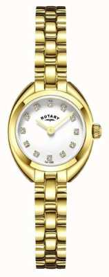 Rotary Womans Armband Armband vergoldet LB05015/11