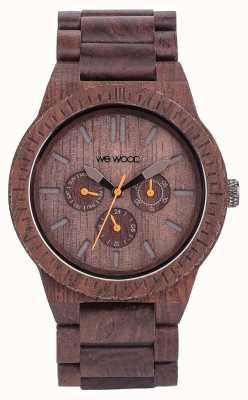 WeWood Herren Kappa Schokolade Holz braun Gurt 70315500