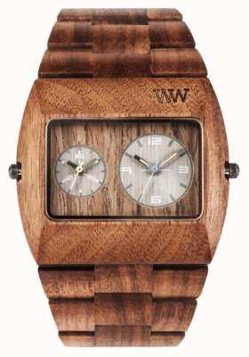 WeWood Mens jupiter rs Mutter aus Holz braun Gurt 70331700