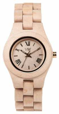 WeWood Frauen criss beige Holzband 70210200