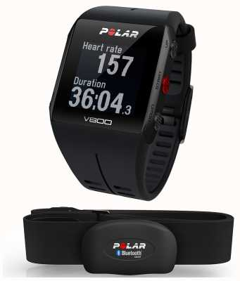 Polar V800 schwarz Multisport-GPS (mit hr) watch 90060770