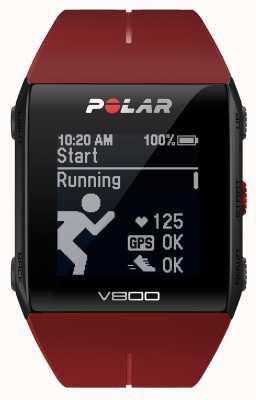 Polar V800 rot Multisport-GPS (mit hr) watch 90060774