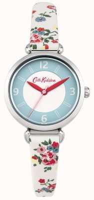 Cath Kidston Damen kew Zweig Blumencreme Leder Uhr CKL020CS