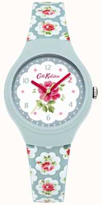 Cath Kidston Damen provence Blue Rose gedruckt Uhr CKL025U