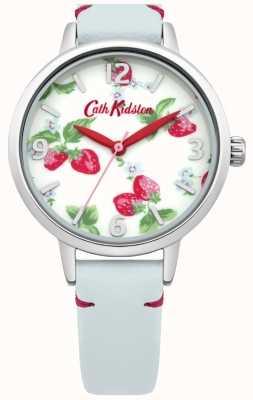 Cath Kidston Damen hellblau Erdbeeren beobachten CKL006WUS