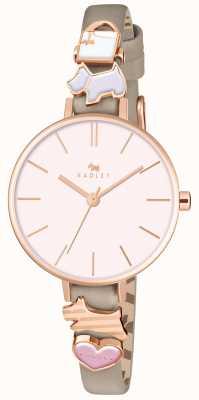 Radley Zeit nach Zeit Damen Waldleder Armbanduhr RY2408