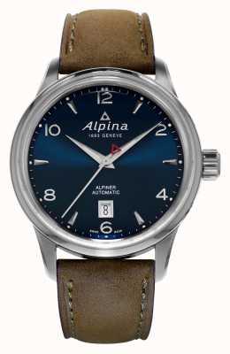 Alpina Mens alpiner automatische blau AL-525N4E6