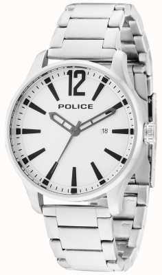 Police Mens dallas Edelstahl Billet 14764JS/04M