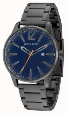 Police Mens dallas gun Billet blaues Zifferblatt 14764JSU/03M