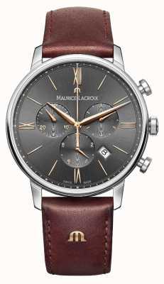 Maurice Lacroix Mens eliros Chronograph grau EL1098-SS001-311-1