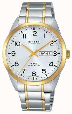Pulsar Herren two tone Uhr PJ6064X1
