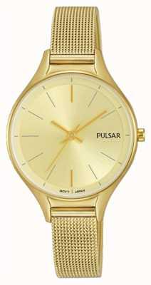 Pulsar Damen vergoldete Uhr PH8278X1