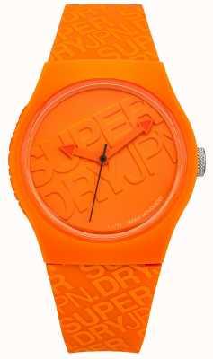 Superdry Unisex städtisches orange Silikon SYG169O